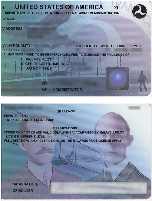 Piloto Privado - Licencia FAA