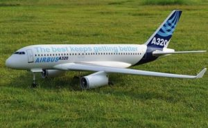 Airbus A320 RC PLANS