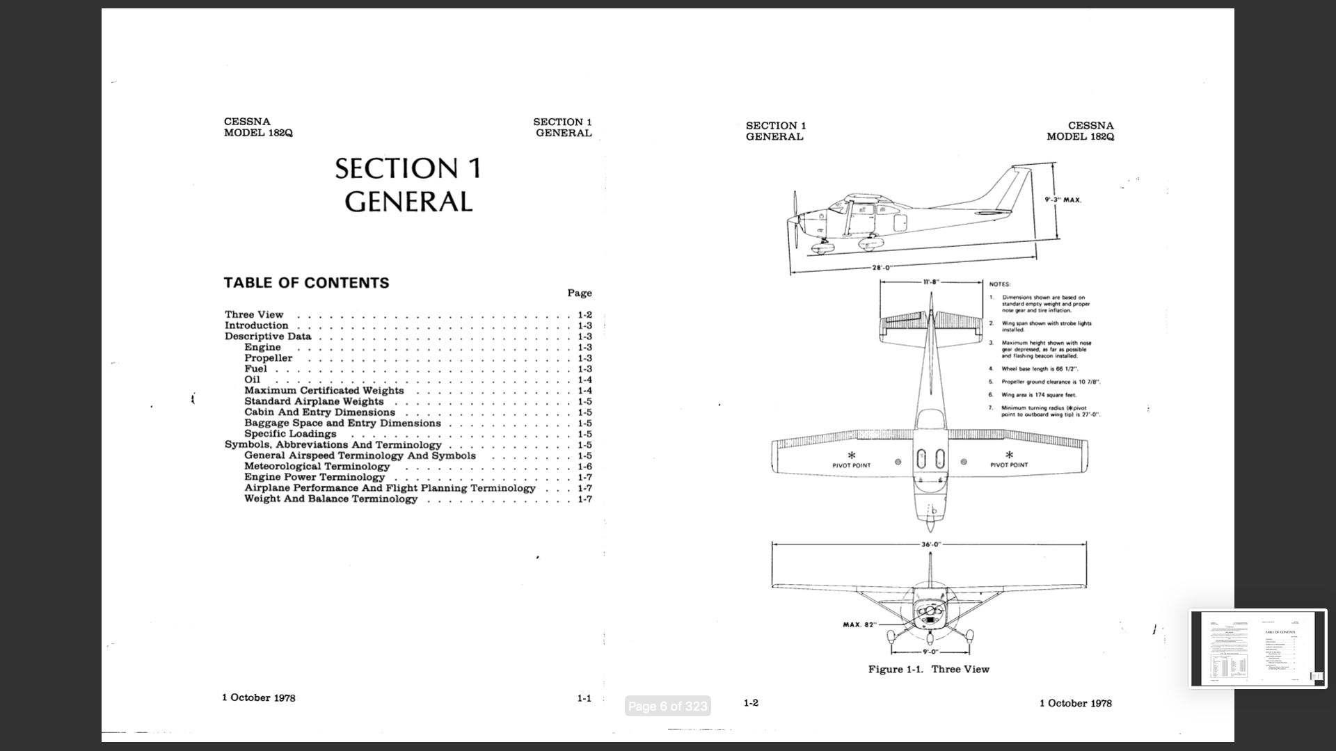 Manual del Operador Cessna C182 POH