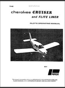 POH Cherokee PA 28 140